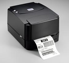 哑银不干胶二维码打印机