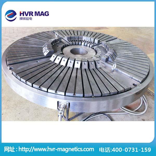 高精度加工电永磁吸盘 圆形大型电永磁磁盘
