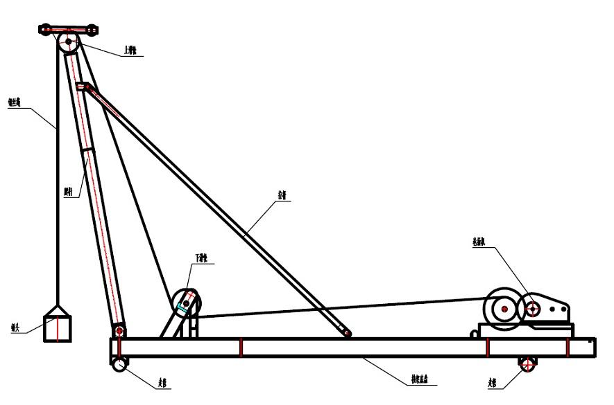 震桩锤三角接线图