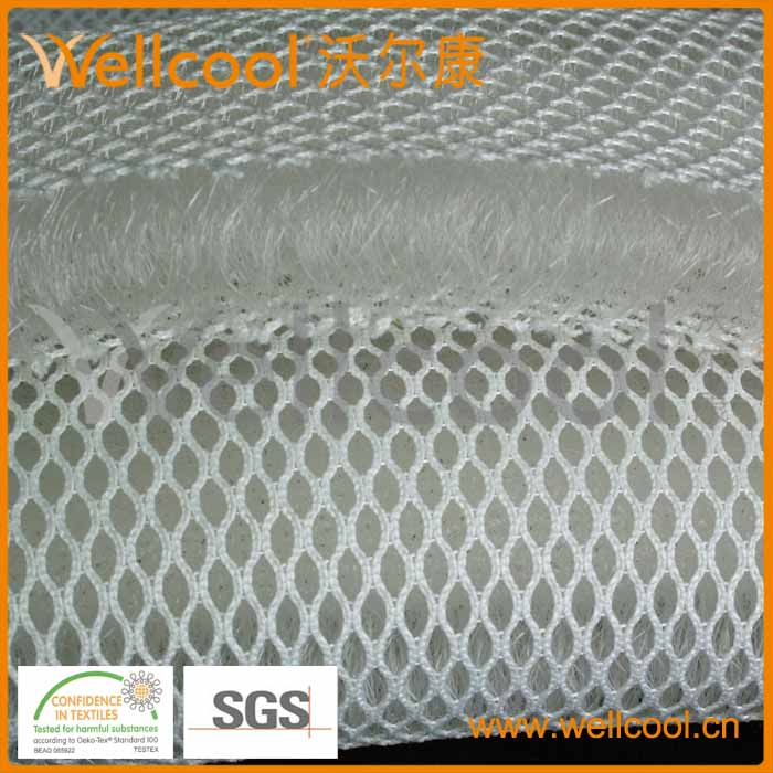 3d网眼布三明治网布床垫材料