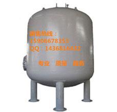 供中茗50吨流量碳钢防腐衬胶罐  多介质过滤器