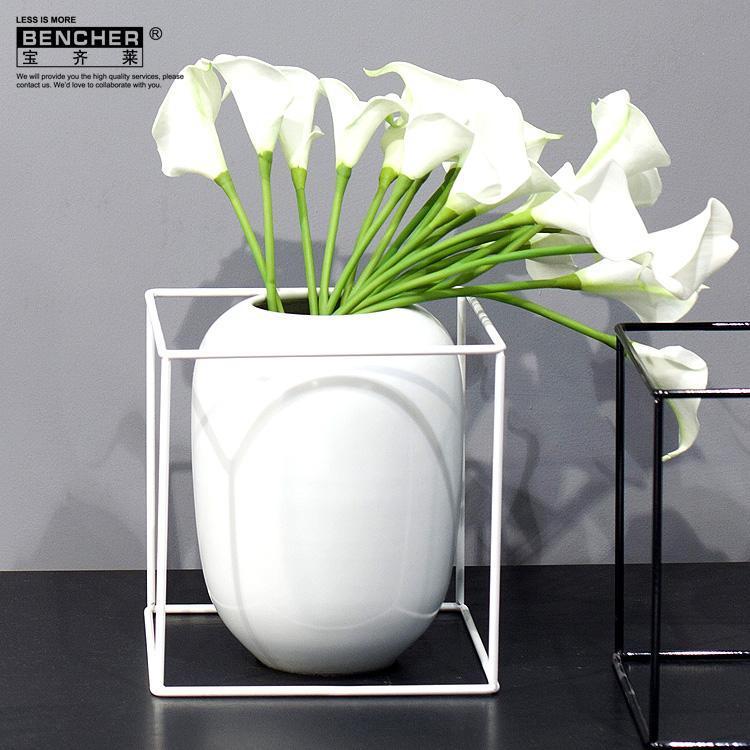 现代艺术客厅装饰品 家居花瓶摆件A54