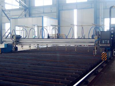 河北H型钢生产线