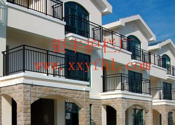 供应常州热镀锌喷塑护栏 阳台空调栏杆 GY-C系列