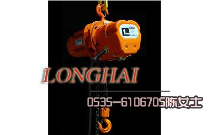 韩国2吨DE型环链电动葫芦,吊装用链式电动葫芦