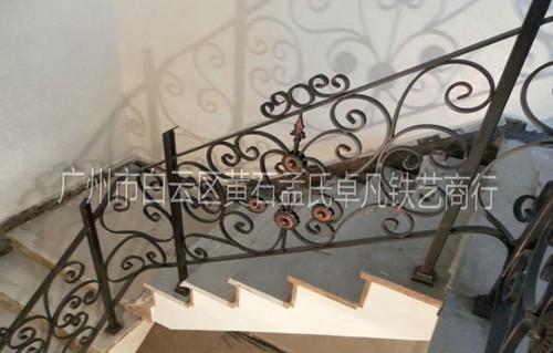 铁艺楼梯扶手价格图片