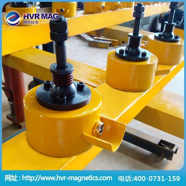 非标可定制双磁源电永磁起重器 圆形电永磁铁