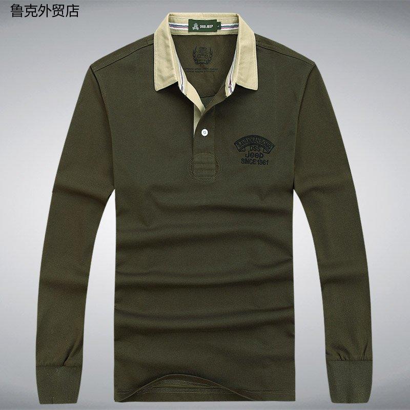 男装专柜正品 休闲大码男士T恤秋季新款Polo衫