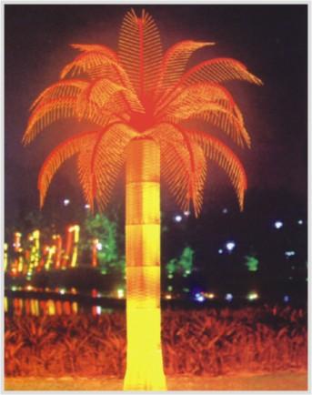 led椰树灯