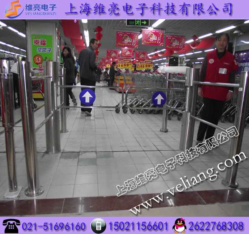 超市摆闸/红外感应自动开门机