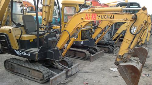 二手国产小型挖掘机