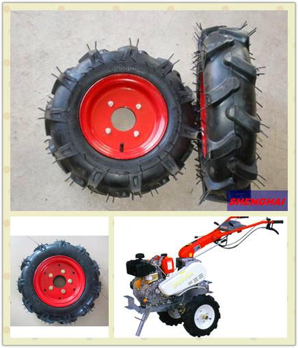 农机,微耕机,拖拉机,翻耕机,播种机专用优质轮胎4.00-8