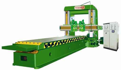 龙门铣床设备水平决定着其生产能力和加工效率