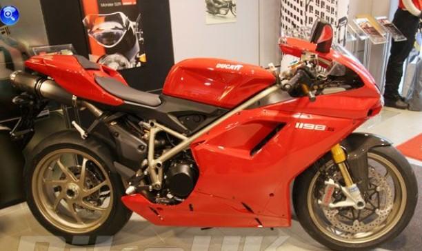 杜卡迪1198摩托车跑车价格