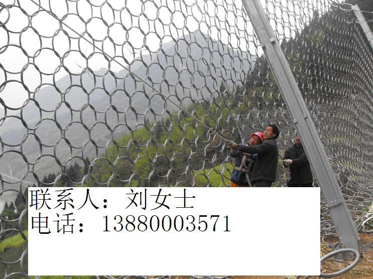 RXI-100环形被动网热镀锌边坡防护网厂家国标
