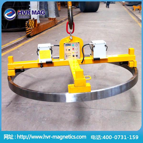 钢环、回转支承轴用蓄电池式电永磁起重器【悍威直销】