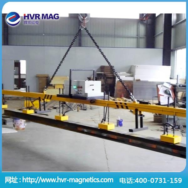 机械加工用汽车纵梁板搬运充电式电控永磁起重器