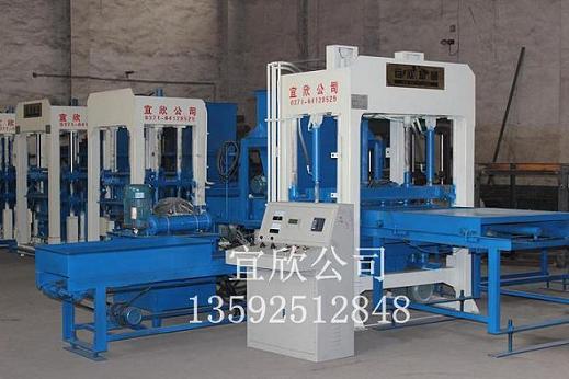 供应扬州渗水花砖机,透水砖机,多联植草砖机设备生产厂家