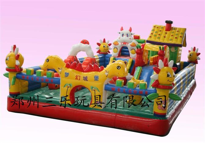 60平方米梦幻城堡气垫蹦蹦床  贵州安顺儿童气模玩具哪里有卖