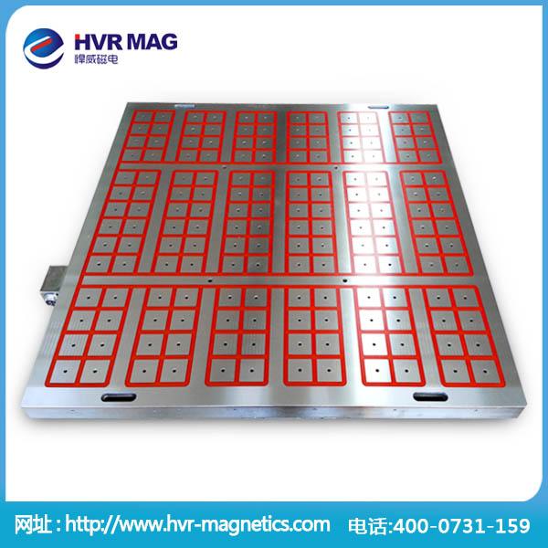 单个磁吸力不低于350公斤的电永磁吸盘