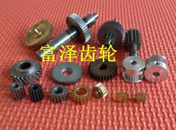 东莞齿轮加工厂家从0.3模数至4模数齿轮加工