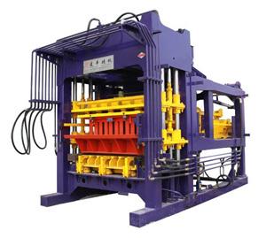 青岛建丰透水砖免烧砖机JF-QT5-15B出口砖机及各种配件报价
