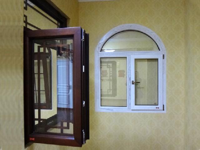 供应潍坊便宜的铝包木门窗 铝木窗价格