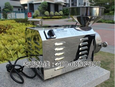 哈欧不锈钢五谷杂粮磨粉机 五谷磨房磨粉机 3KW大功率商用磨粉机