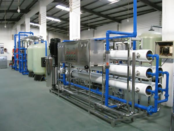 10T/h双级反渗透设备/东莞可源水处理反渗透纯水设备生产厂家