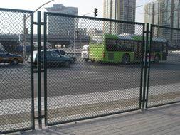 工厂加工定做边坡内网勾花网  动物园菱形网