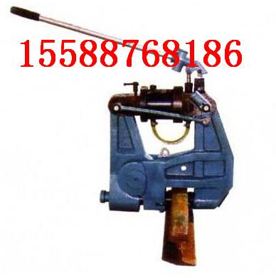 液压钢轨挤孔机