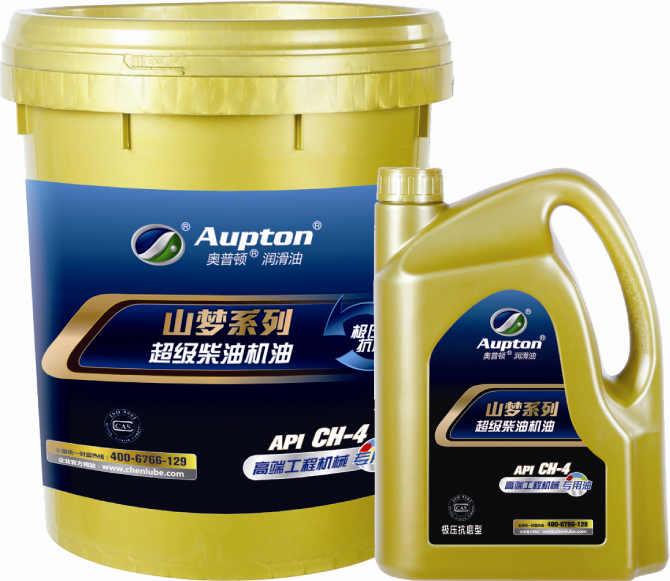 山梦系列超级柴油机油工程机械专用油CH-4