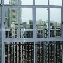 天津断桥铝门窗公司 60断桥铝内推拉窗