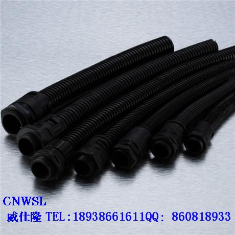 供应AD18.5尼龙PA波纹管 塑料穿线管又名高级浪管