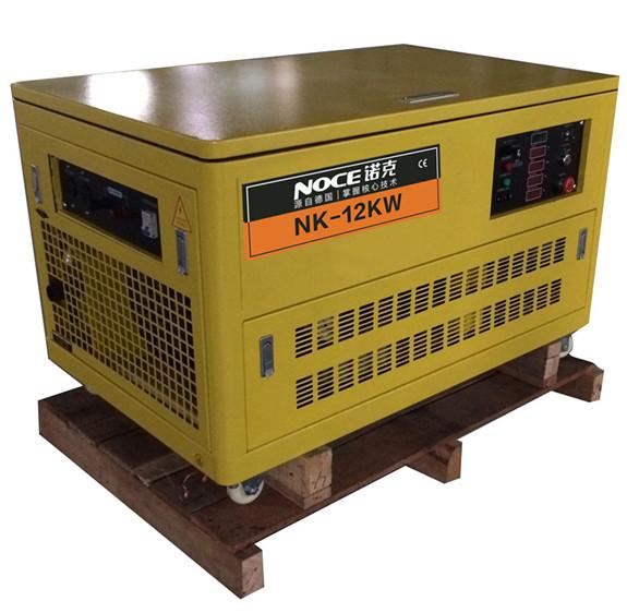 12KW汽油燃气发电机|多燃气