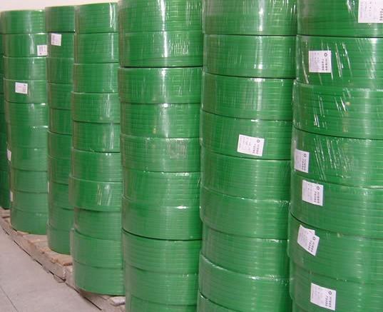 四川成都厂家售PET塑钢打包带绿色优质塑钢带维修打包机第一品牌