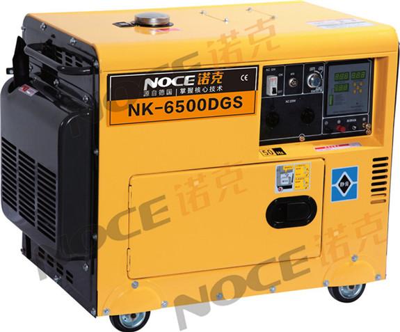 6kw静音柴油发电机  诺克动力
