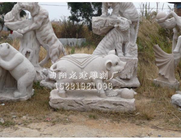 石雕动物雕塑价格  曲阳县龙建雕刻厂 |  产品大全 | 联系方式  古代