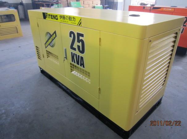 30kw静音柴油发电机YT2-40KVA