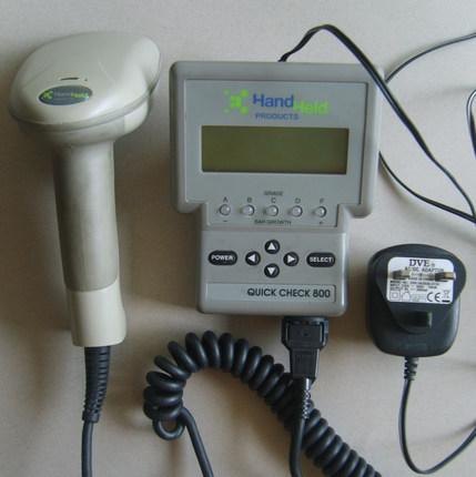 Honeywell QC800手持式台式条码检测仪