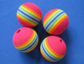 彩色eva玩具球