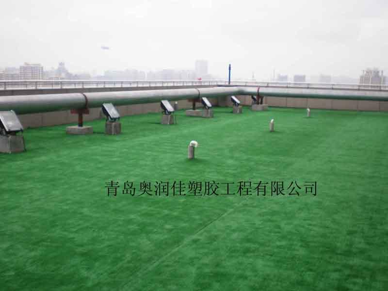 幼儿园人造草坪-室外景观草