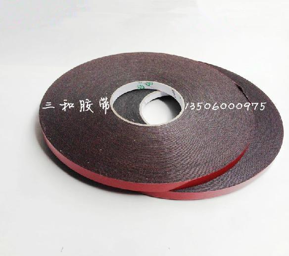 汽车泡棉双面胶带  pe汽车泡棉双面胶带  汽车专用双面胶带