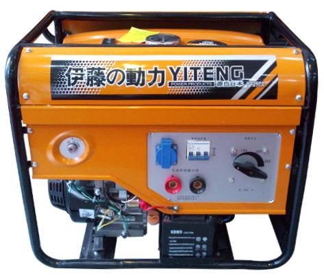 便携式汽油发电电焊一体机
