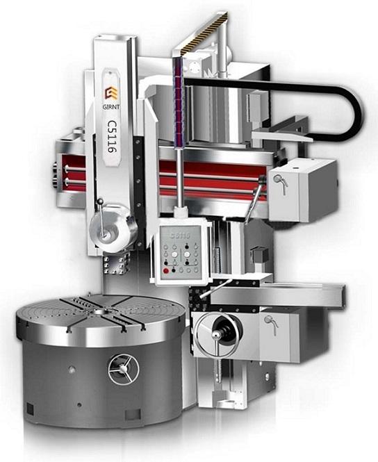 河北专业生产CK5116数控单柱立车制造厂家