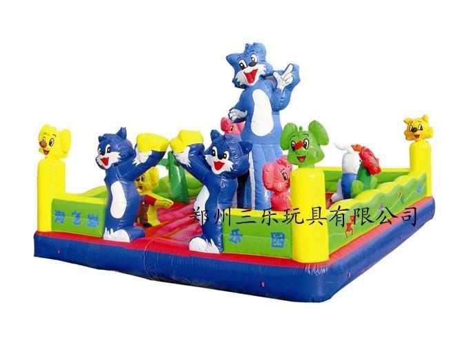 室外游乐小型充气蹦蹦床/安徽亳州幼儿园玩具儿童城堡