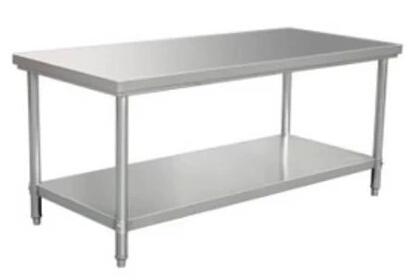 广州厨房不锈钢工作台柜 番禺金品厨具商行店 厨房安装工程