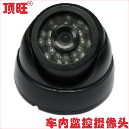 客车红外夜视车内车门监控半球摄像头