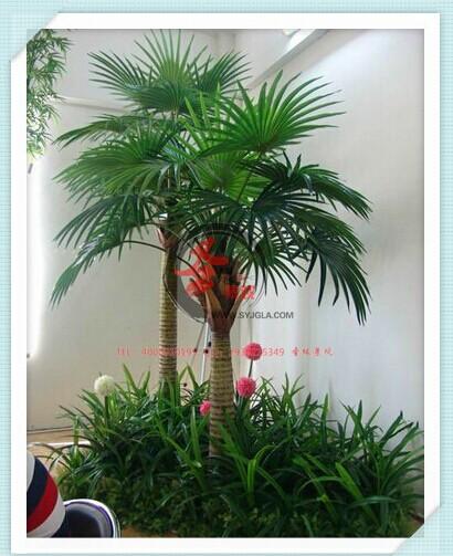 仿真大王椰子树 庆缘景观造景工程