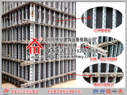 兴民伟业剪力墙模板支撑组合结构
